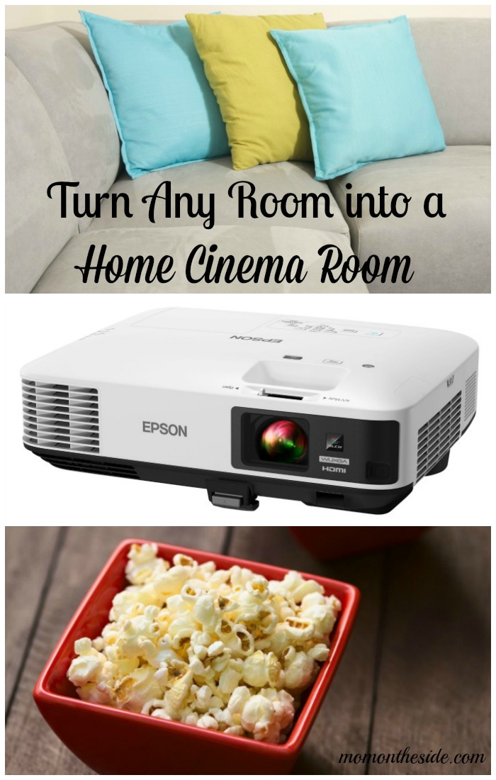 You can easily turn any room into a home cinema room, with four simple things! Get started with these Home Cinema Room Ideas