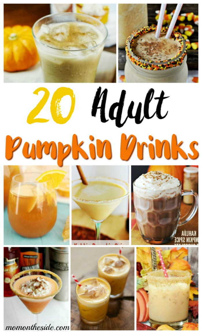 20 Spooktacular Adult Pumpkin Drinks for Fall