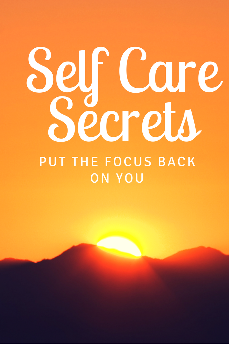 Even when life gets crazy busy, we can still put the focus back on our own self care, without taking away our family. Get the self care secrets!