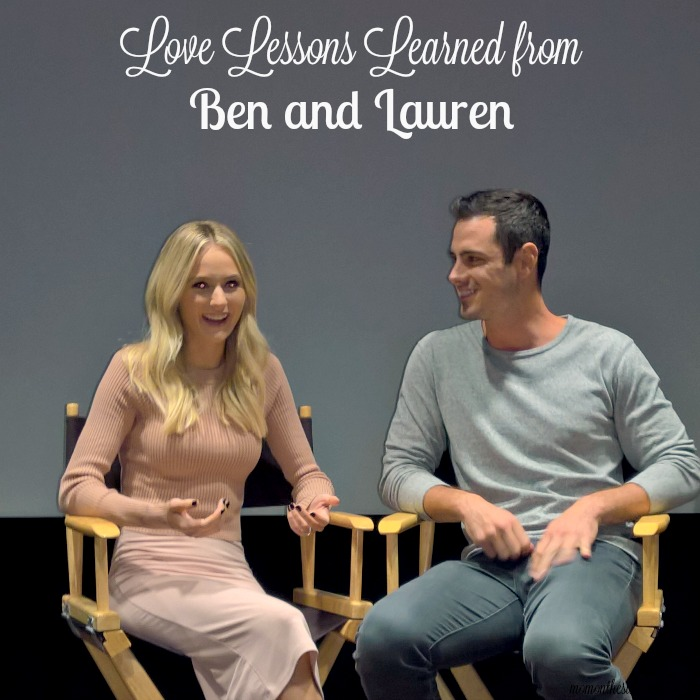 Love Lessons Learned From Ben and Lauren