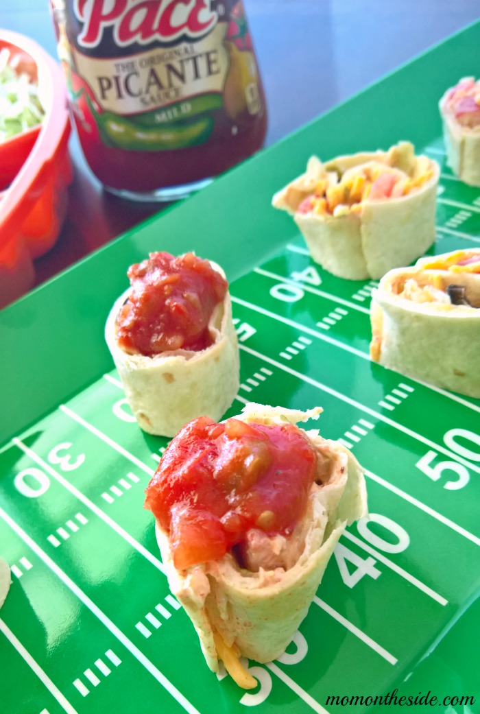 Taco Touchdown Two Ways: Taco Dip Pinwheels and Taco Pizza Cups