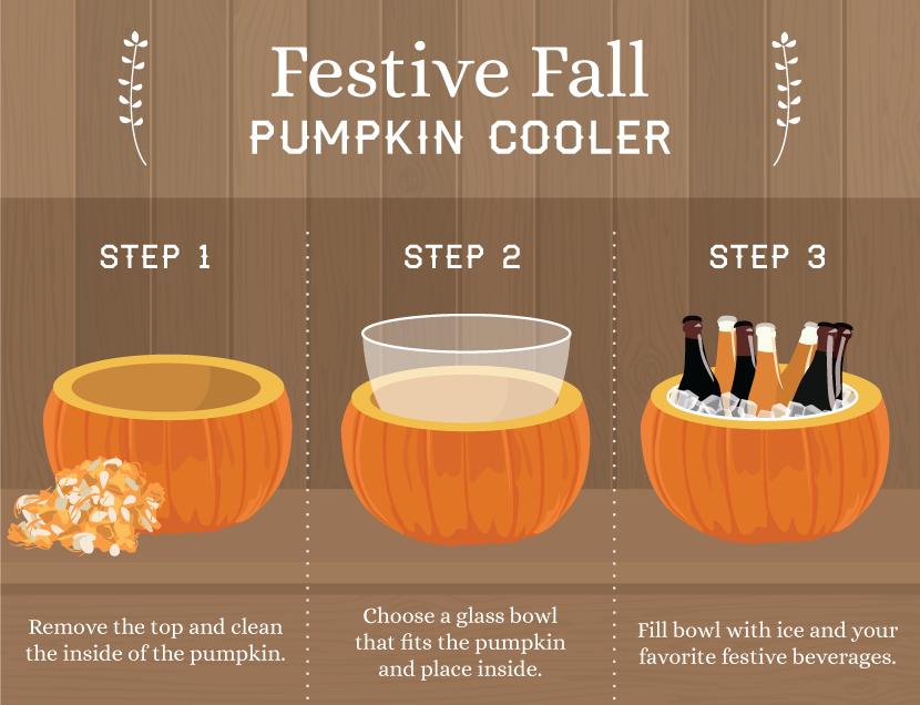 How to Make a Pumpkin Cooler