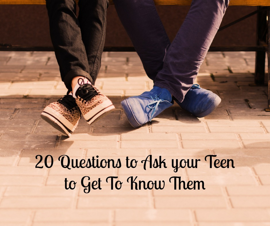 Teens struggle during this stage just about as much as we are. Get through it, in one piece, with 20 questions to ask your teen to get to know them.