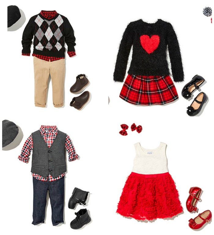 3e9dcad86ced Adorable Matching Holiday Outfits for Boy Girl Twins