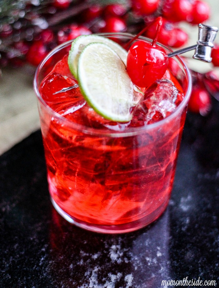 Cherry lime vodka delicious cocktail for holiday parties for Delicious drink recipes with vodka