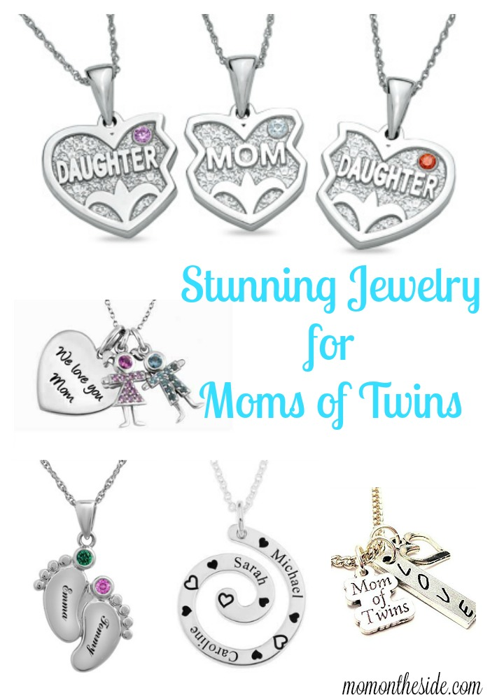 Celebrate the double blessing of twins with beautiful jewelry. These stunning pieces of jewelry for moms of twins, will create a smile when unwrapped!