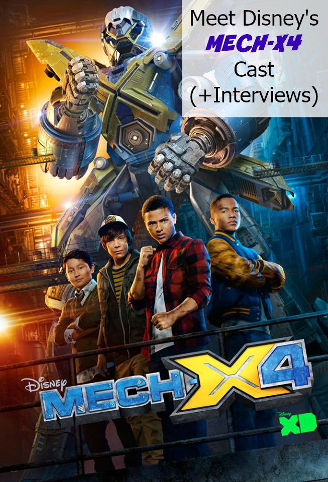 Meet Disney's MECH-X4 Cast (+Interviews)