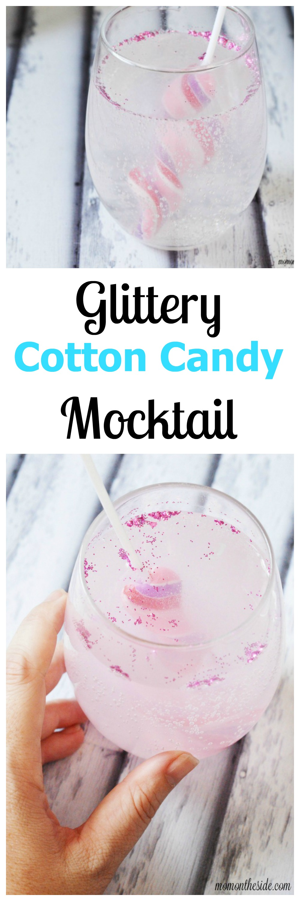 How to Make a Cotton Candy Cocktail