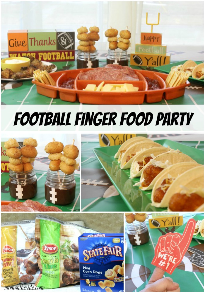 Ad Deliciously Amazing Football Finger Food Party