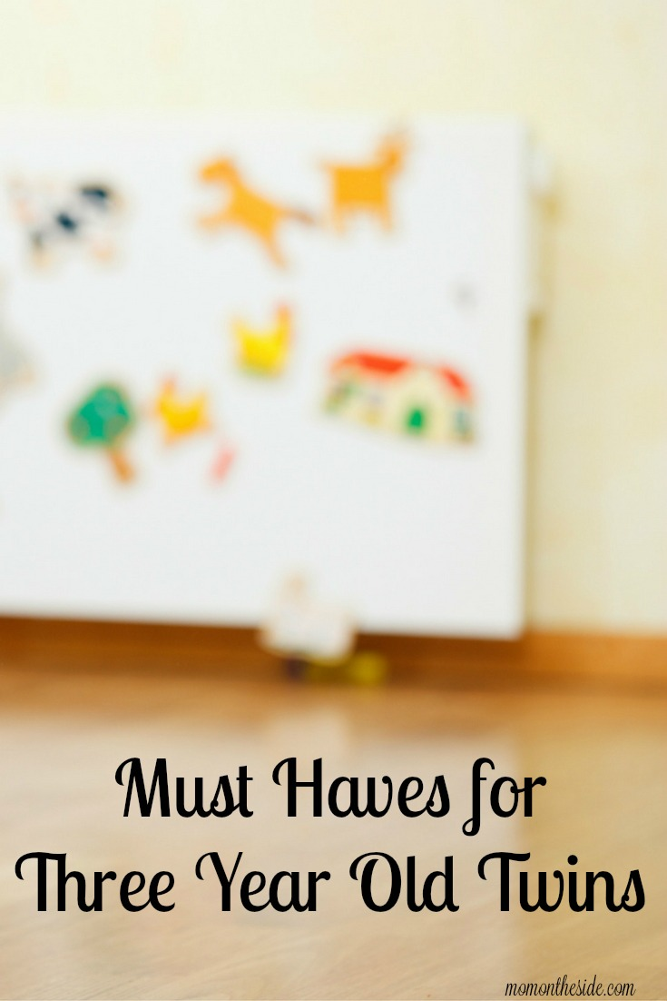 Must Haves for Three Year Old Twins