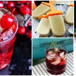 New Year's Eve Cocktails and Alcohol Popsicles