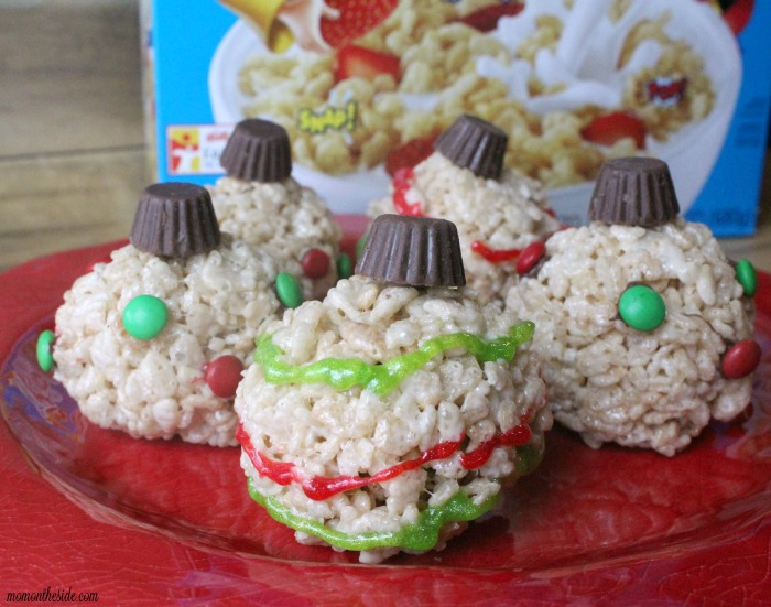 Krispies Surprise Ornaments