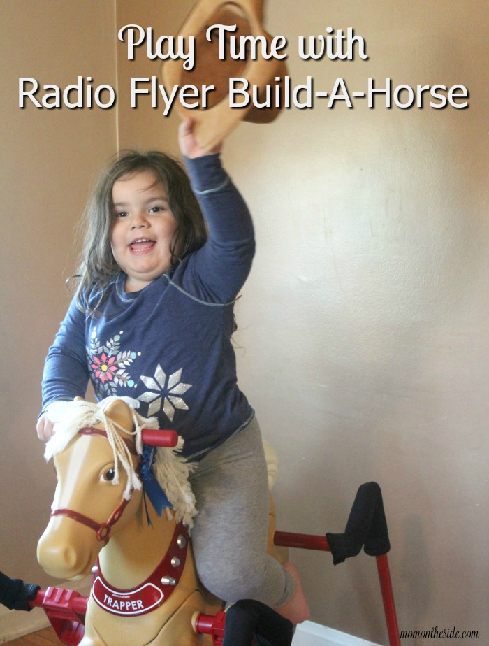 Play Time with Radio Flyer Build-A-Horse