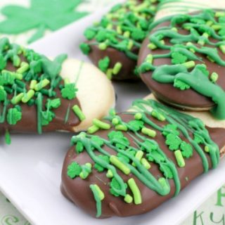 St. Patrick's Day Milano Cookies