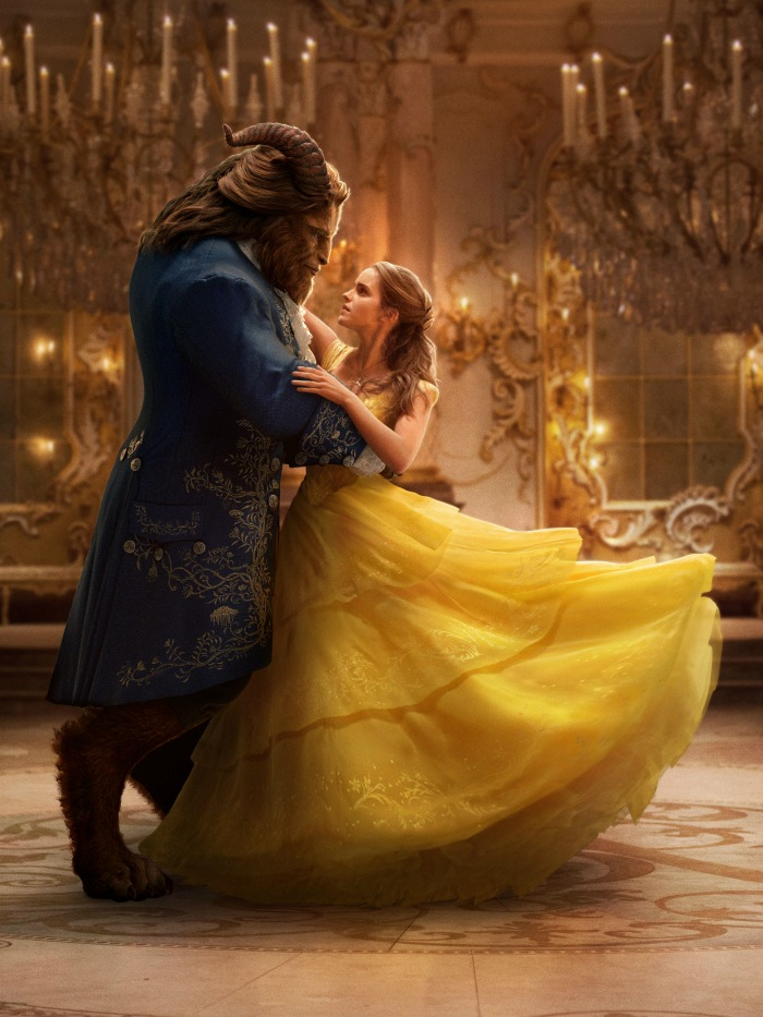 Inside the Movie Set of Beauty and the Beast