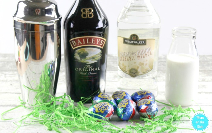 Using Cadbury Eggs to make shots for Easter is super fun! If you will be serving Easter cocktails at your party, give these Cadbury Egg Shooters a try.