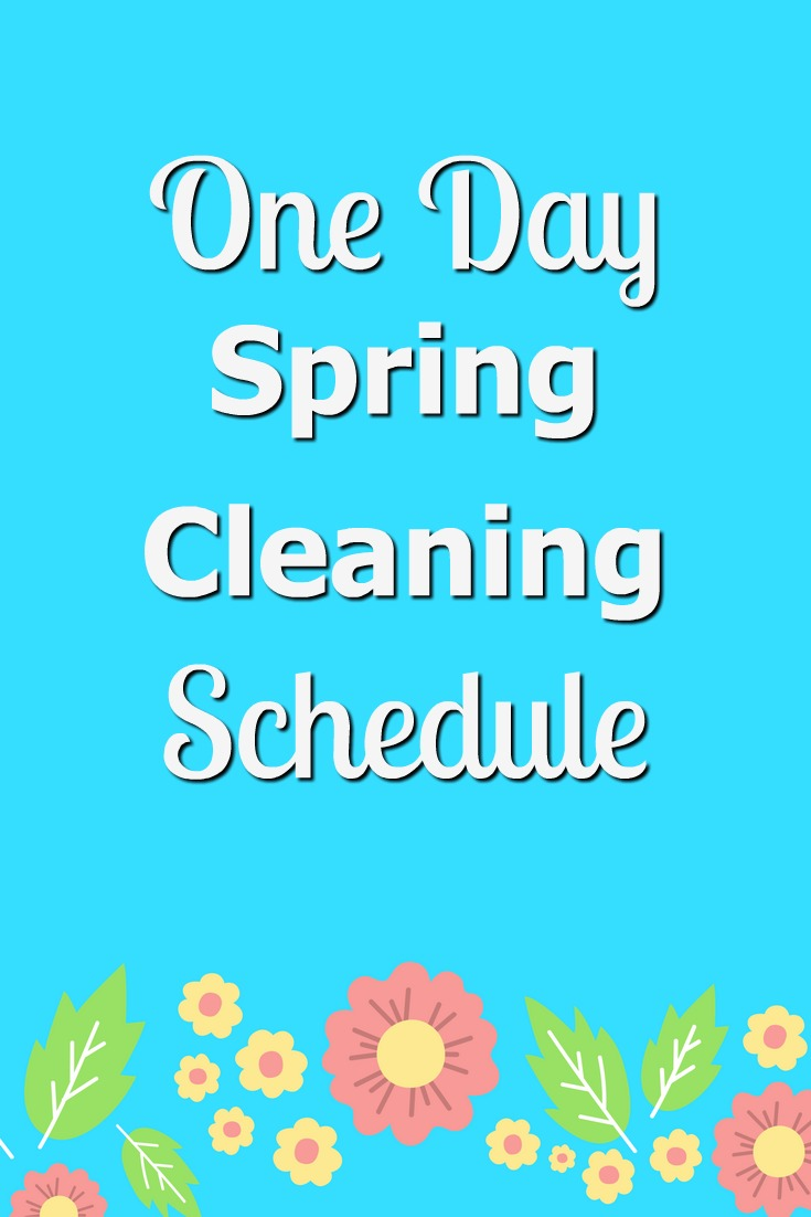 How To Tackle Spring Cleaning in One Day