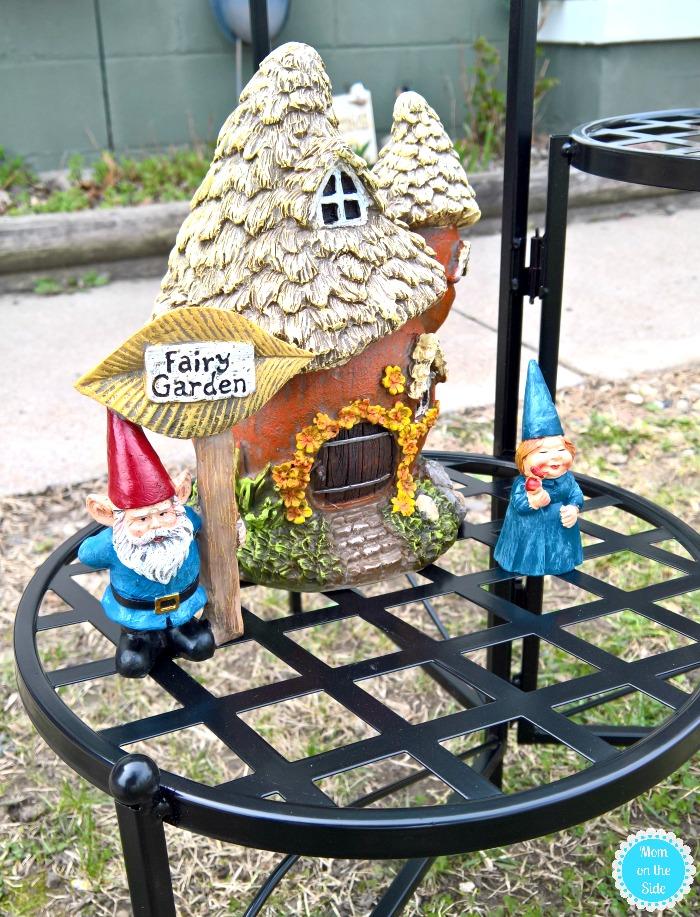 Fairy Garden Decor for Outdoor Sitting Areas