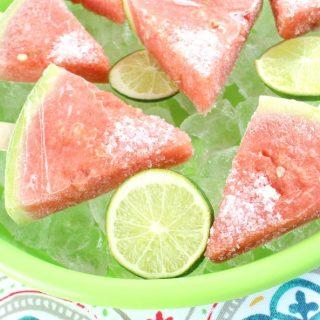 Boozy Watermelon Pops