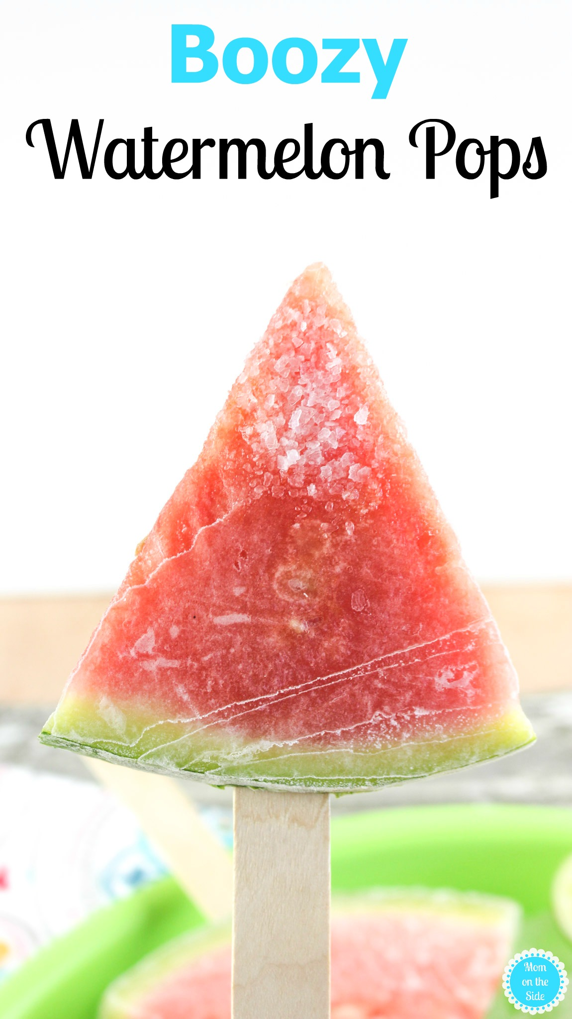 Boozy Watermelon Pops Recipe