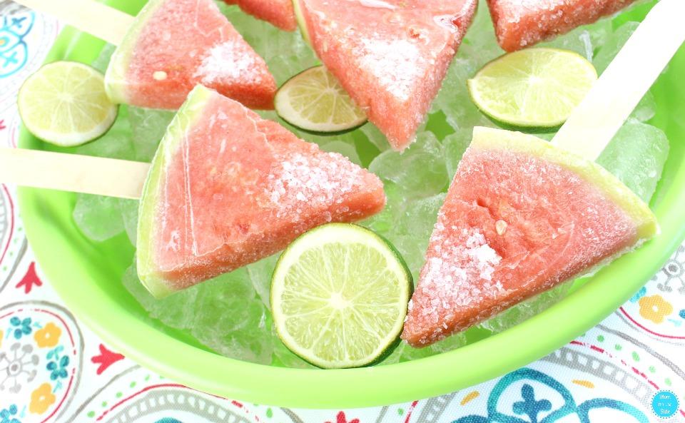 How to Make Boozy Watermelon Pops