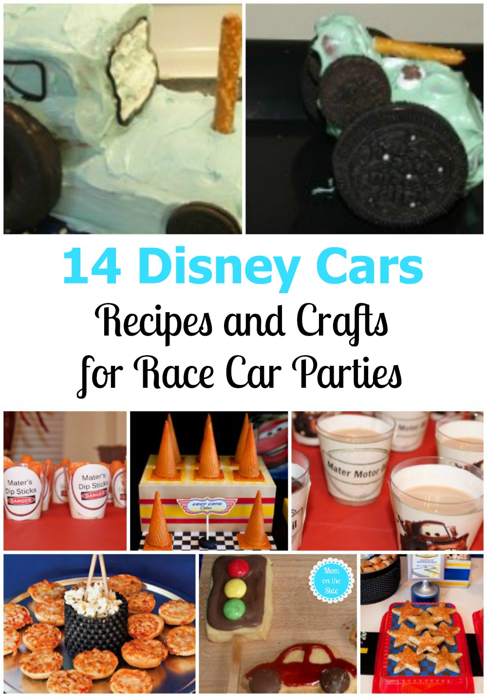 Cars Recipes and Crafts for Kids