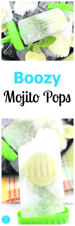 Boozy Mojito Pops Recipes