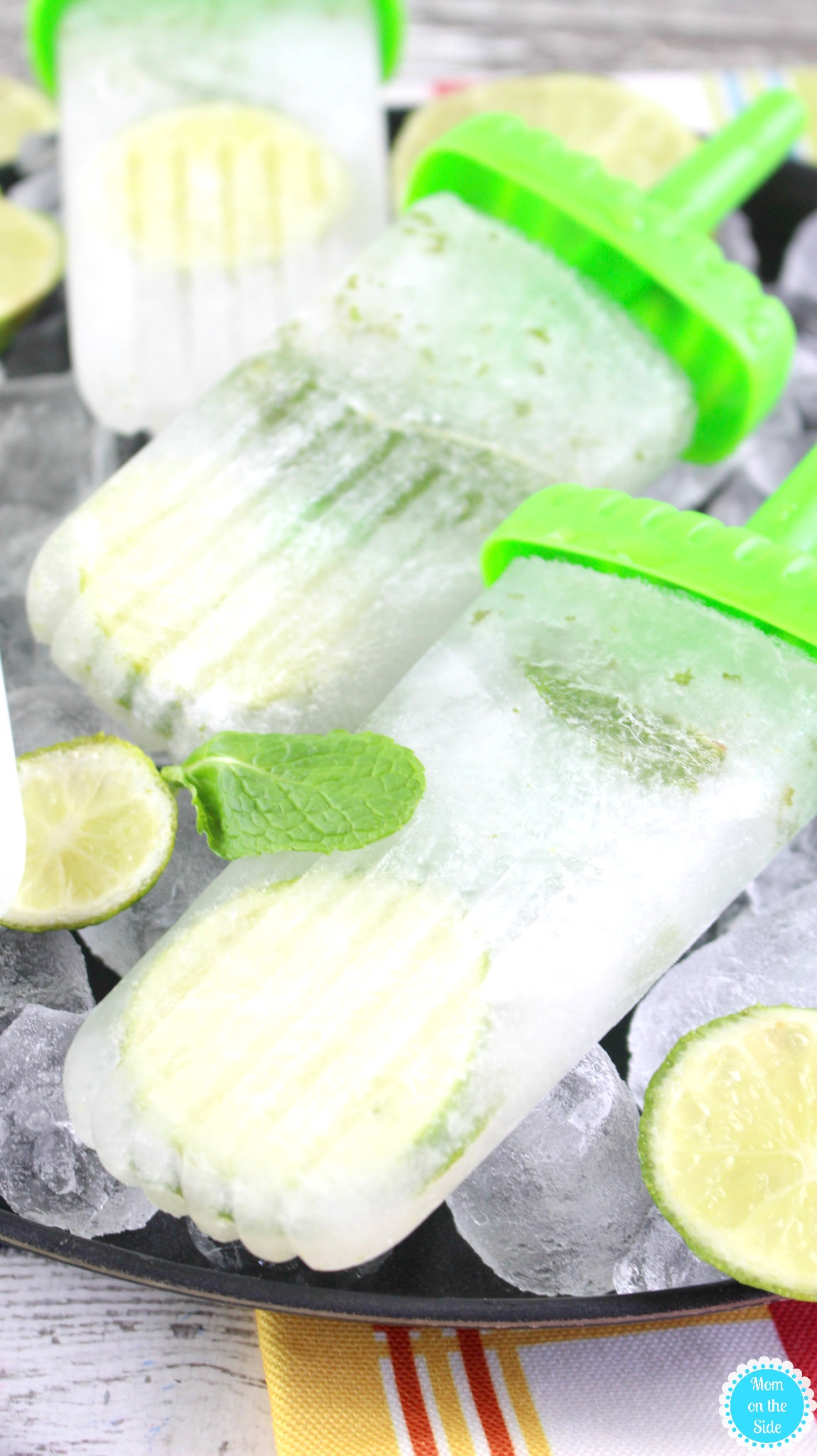 How to Make Mojito Pops