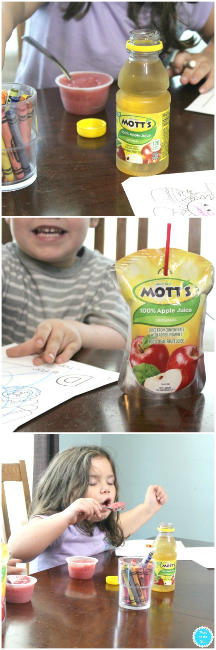 Mott's Rebate for Growth Chart