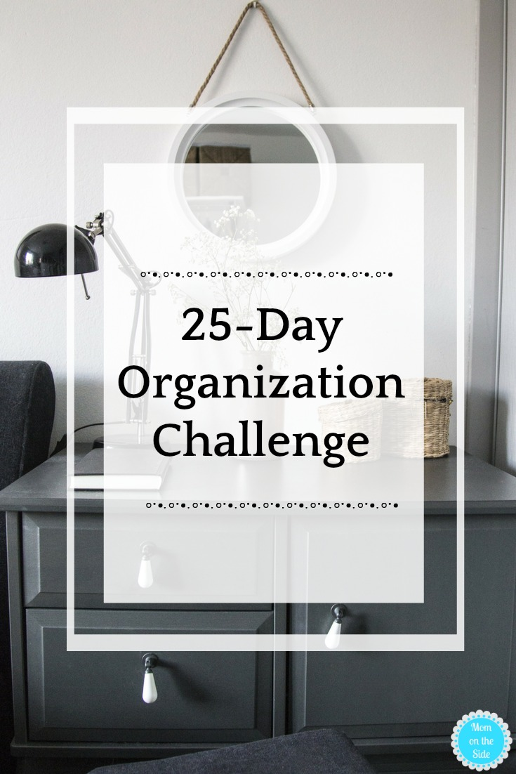 Tidy up and Organize in a Breeze with this 25-Day Organization Challenge!