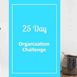 Tidy Up in a Breeze: 25 Day Organization Challenge