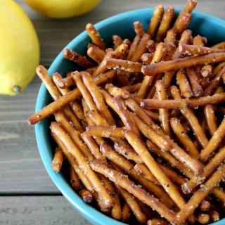Lemon Pepper Pretzels