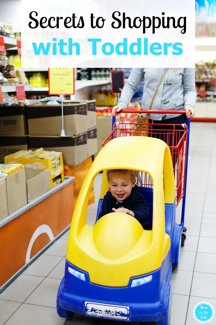 Tricks to Shopping with Toddlers