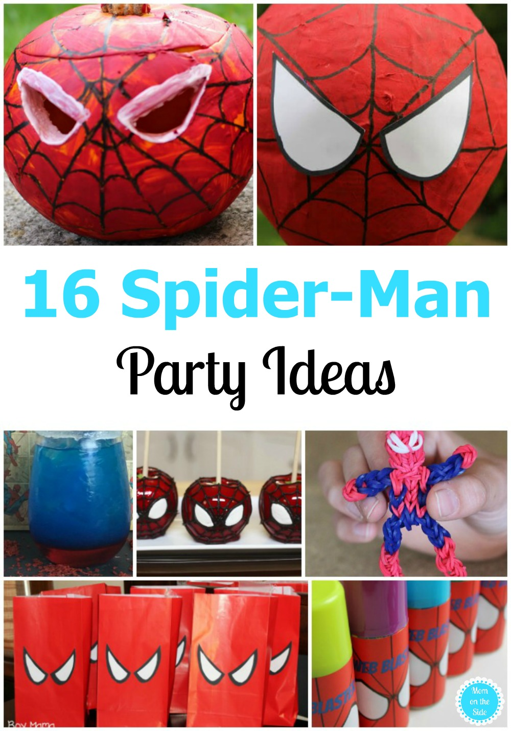 Spider-Man Party Ideas and Party Printables