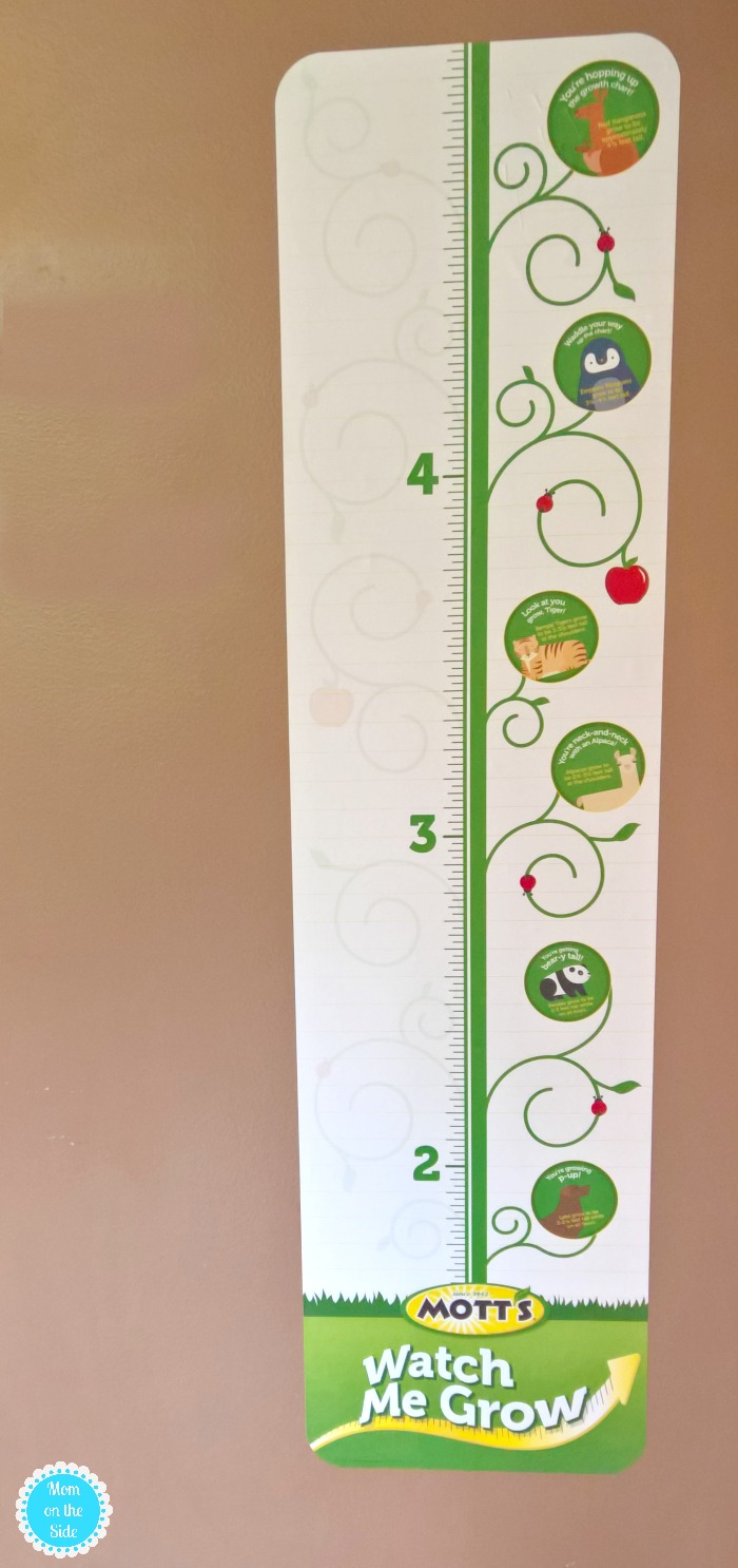 Growth Chart from Mott's
