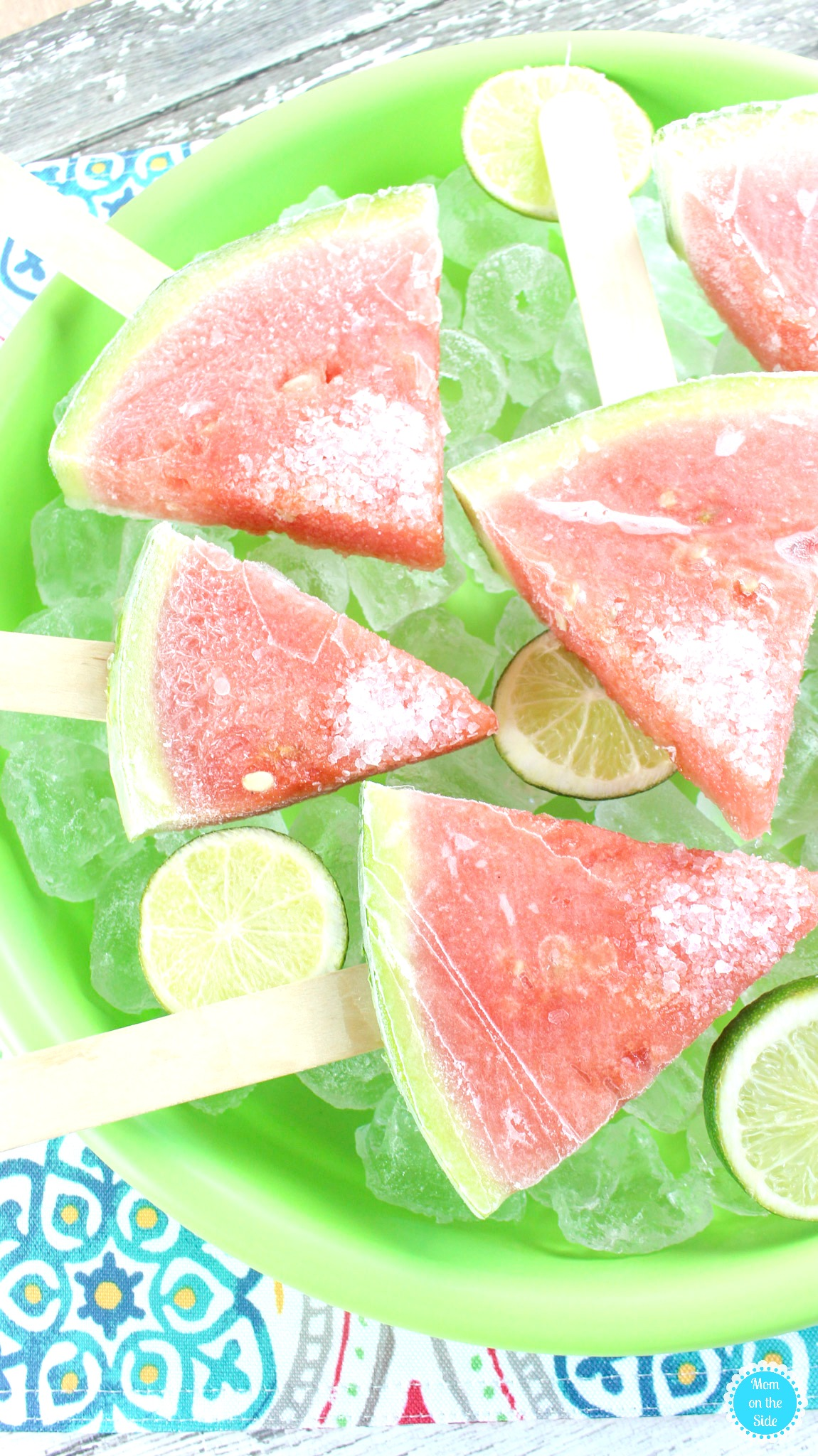 Boozy Watermelon Pops will be a Summer Time Favorite
