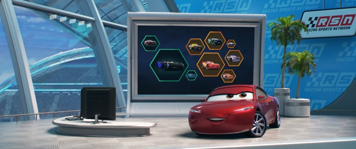 Cars 3 Interviews with Kerry Washington as Natalie Certain