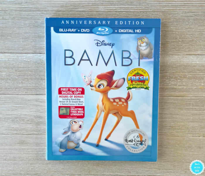 Bambi Blu-ray and Bambi Bingo