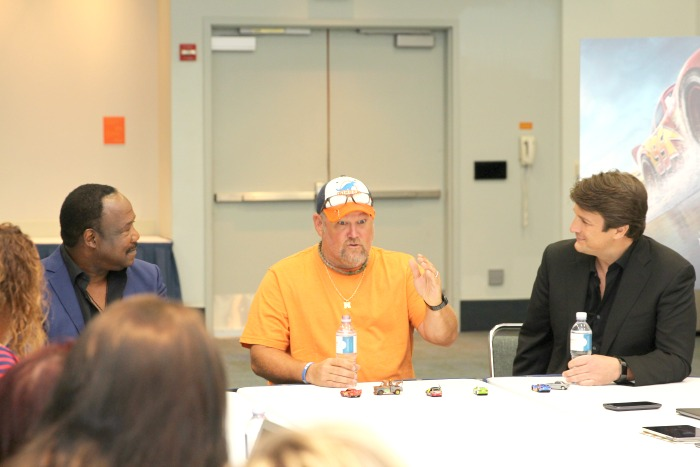 Cars 3 Cast Interviews with Larry the Cable Guy