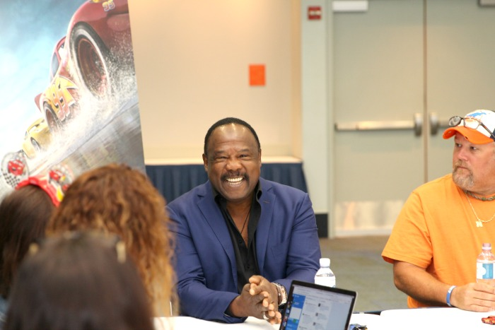 Cars 3 Cast Interviews with Isiah Whitlock Jr.