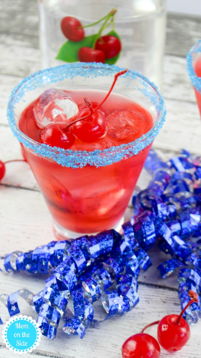 Cherry Bomb Cocktail Recipe for 4th of July