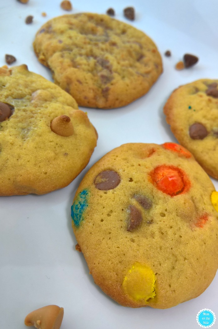 Different Cookies One Dough