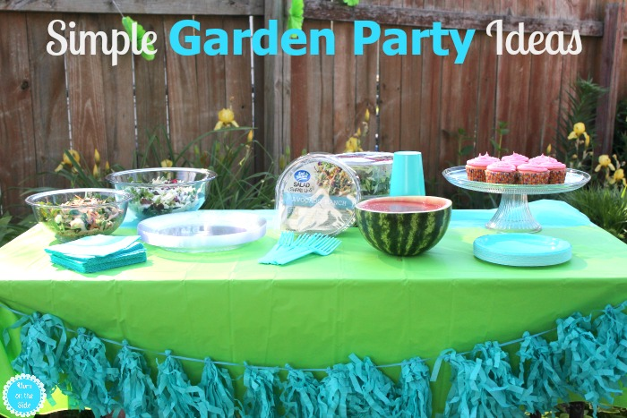 Simple Garden Party Ideas for Summer