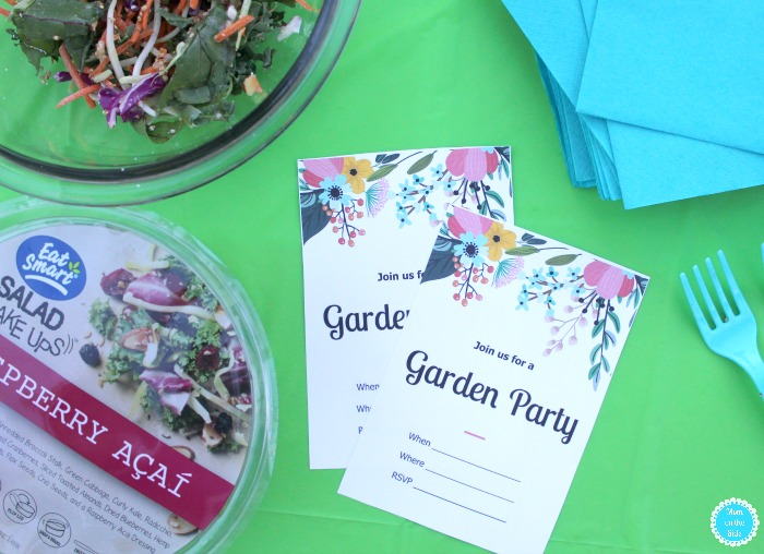 Simple Garden Party Ideas and Printable Garden Invitations