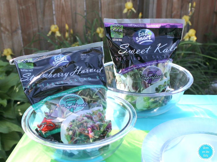 Eat Smart Gourmet Salad Kits and Simple Garden Party Ideas