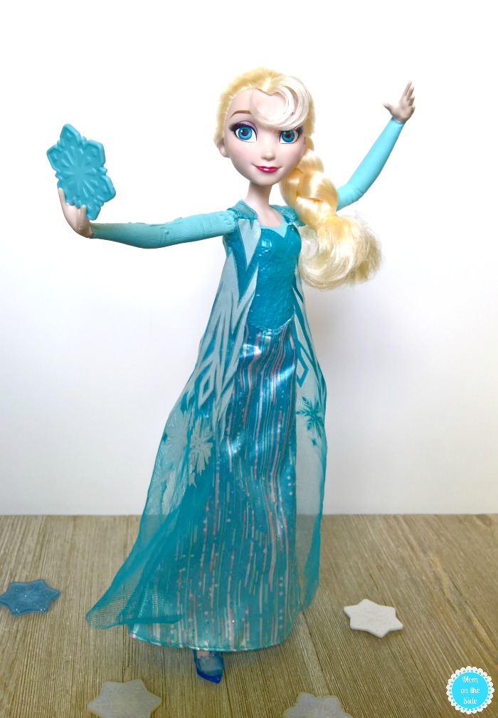 Frozen Elsa Doll and Frozen Movie Bingo