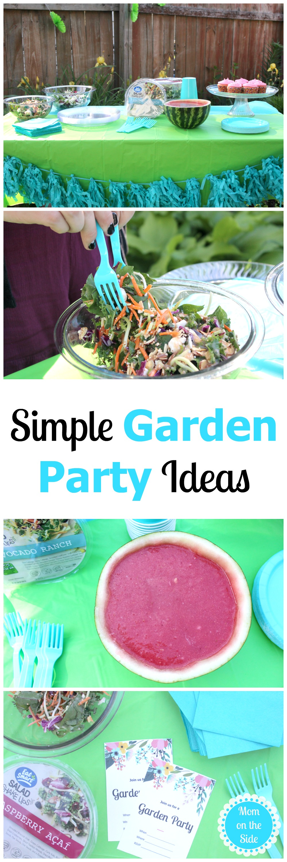 Simple Garden Party Ideas