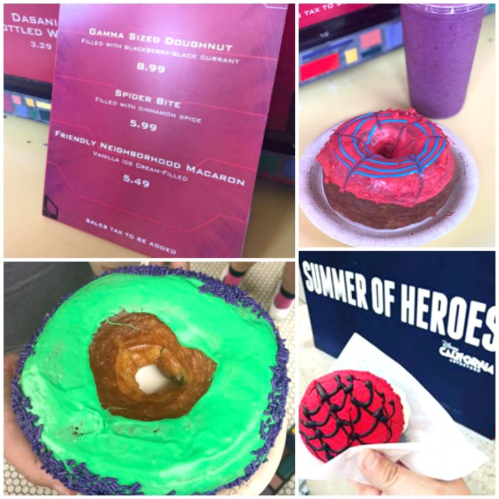 Guardians of the Galaxy Themed Food and Desserts