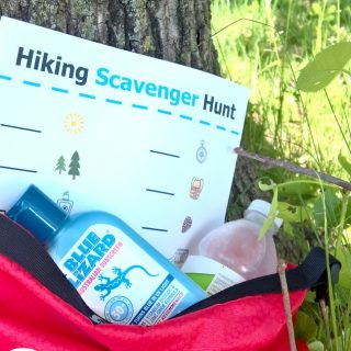 Hiking Scavenger Hunt for Families