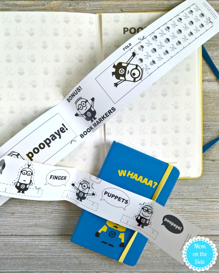 Minions Moleskine Notebooks with Bookmarks